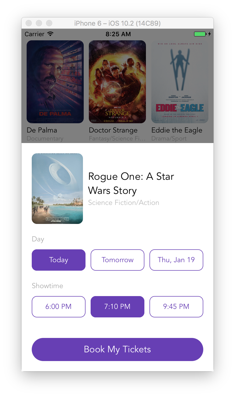 Movie Tickets Booking App with React Native | Rational App Development