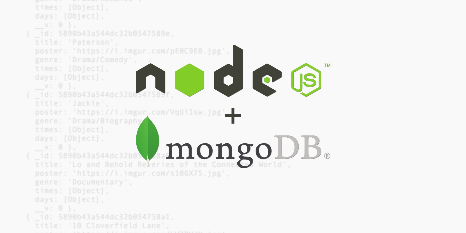 API Backend with Node js, Express, and MongoDB for React Native Apps