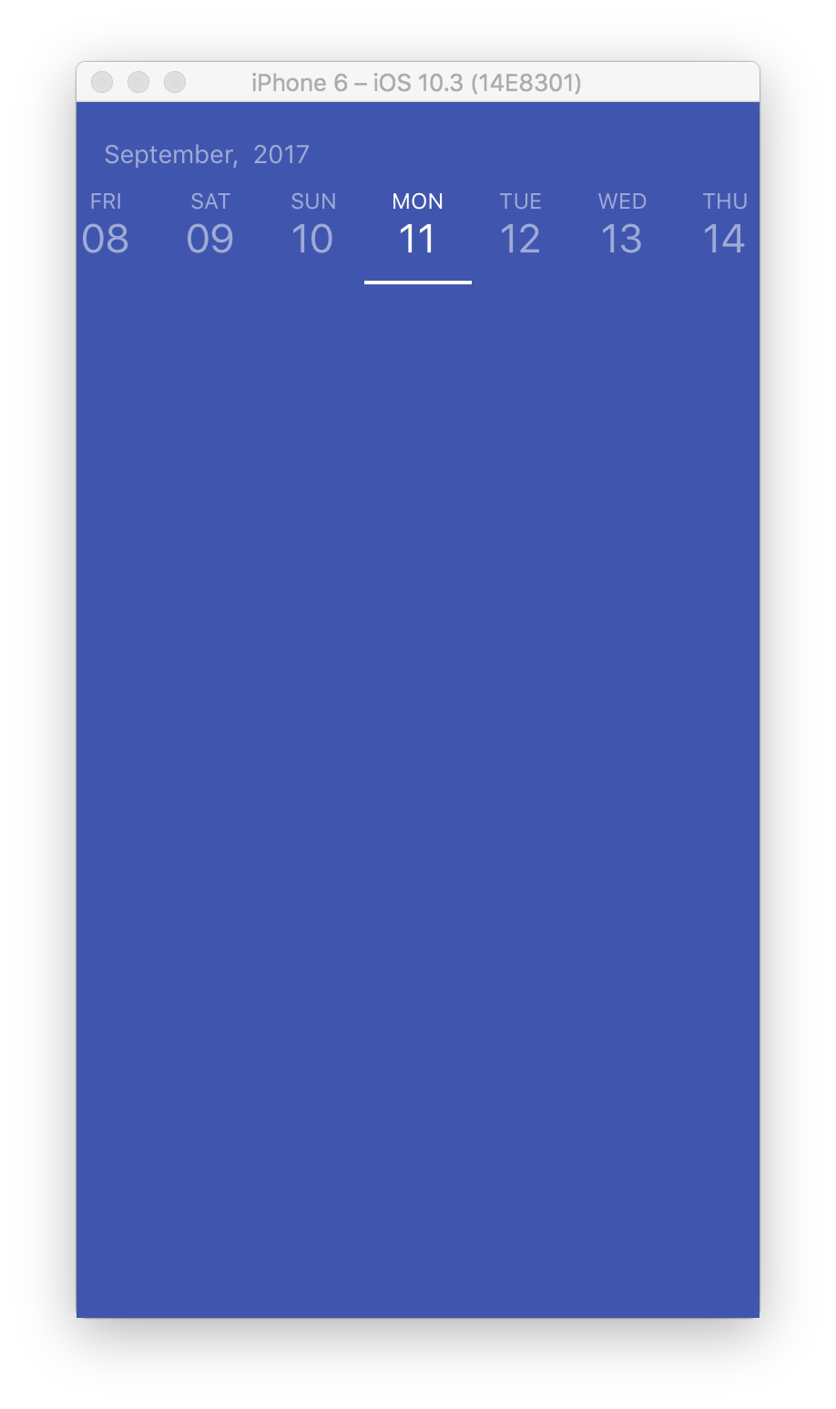 Horizontal Calendar in React Native | Rational App Development